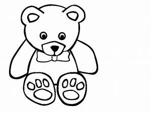 Cute Bear Clipart Black And White | Clipart Panda - Free ...