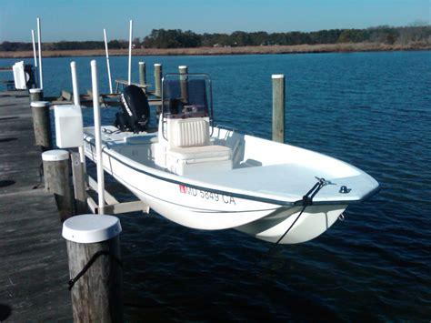 Whaler Tekne by 2007 Outer Banks Skiff 16ft Boston Whaler Carolina
