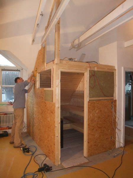 In Dachschräge Einbauen by Saunaeinbau Dachschr 228 Ge Au 223 Enwand Sauna In 2019