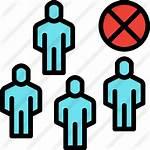 Avoid Icon Crowds Icons Flaticon Tulpahn Designed