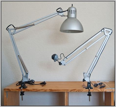 clamp desk lamp ikea desk home design ideas
