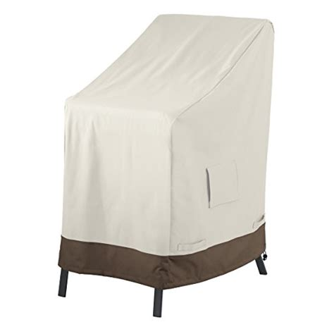 housse chaise longue jardin amazonbasics stackable chair patio cover
