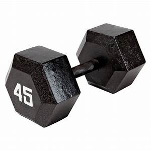 Marcy 45 Lb Ecoweight Iron Dumbbell  Iv-2045 - Walmart Com
