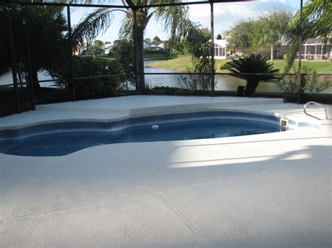 melbourne suntree pool deck painting after photo