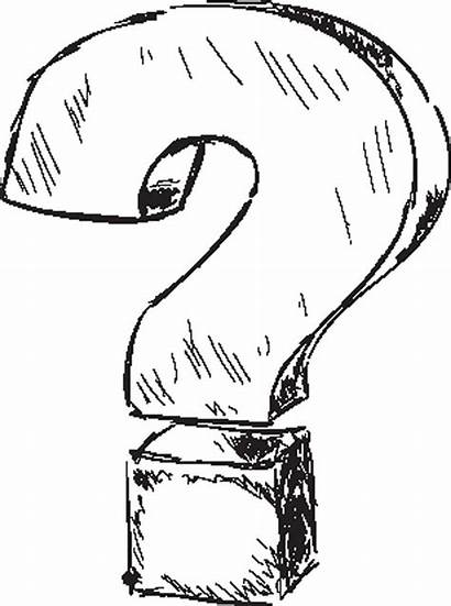 Question Mark Drawing Questions Sketch Drawings Illustration