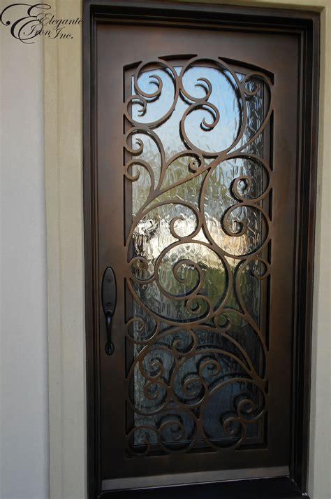 custom wrought iron front door home ideas pinterest