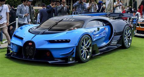 Bugatti's Vision Gran Turismo Stuns At Pebble Beach