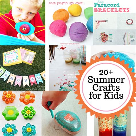 summer themed craft ideas 20 summer crafts and activities for the crafting 5516