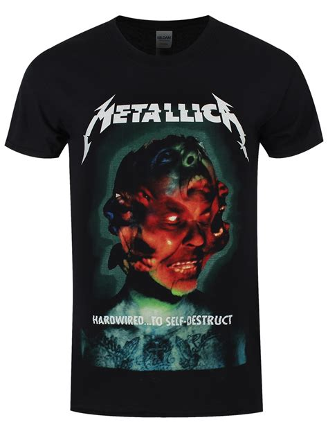 metallica hardwired album s black t shirt buy