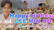 Lee Min Ho's Birthday Celebration with Kim Go Eun - YouTube
