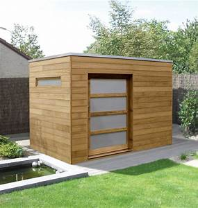 Quality contemporary sheds hardwood or softwood for Modern garden shed