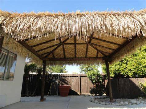 thatch roll materials  tiki bar hut roof contruction