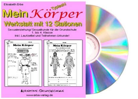 Mein Körper * Werkstatt * Kopiervorlagen *Der Erbe Verlag