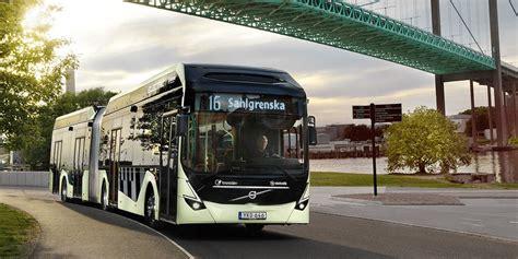 se volvo  deliver  electric buses  transdev