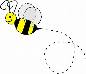 Bee Trail Clipart