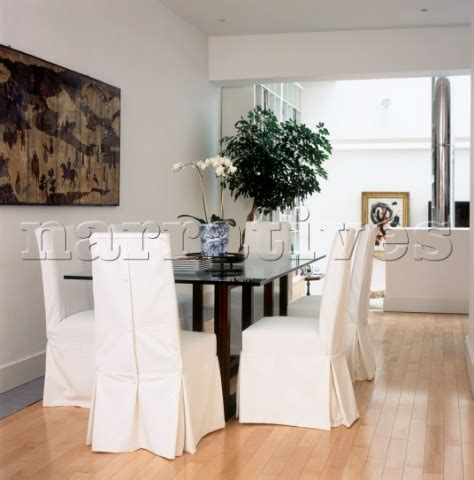 Jb12801 Contemporary White Open Plan Dining Room Wit