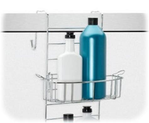 bathroom simple design  standing shower caddy