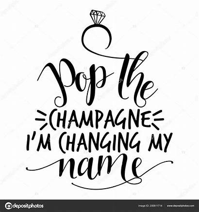 Champagne Pop Changing Text Hand Vector Word