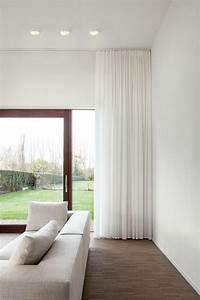 Rideau Moderne Salon : le rideau voilage dans 41 photos les salon moderne ~ Premium-room.com Idées de Décoration
