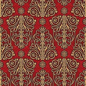 Abstract beautiful background, royal, damask ornament ...