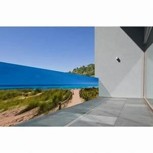 Toile Extérieure Pour Terrasse : brise vue en toile polyester bain de soleil 0 80 x 3 ml pour jardin terrasse et piscine ~ Melissatoandfro.com Idées de Décoration