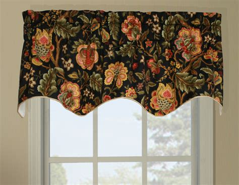 duchess imperial dress insert window valance floral