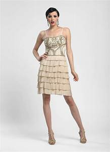 Champagne Cocktail Dress | Dressed Up Girl