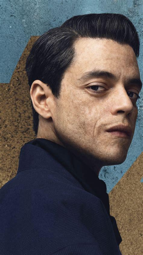 Download wallpaper: Rami Malek in No Time to Die 007 1080x1920