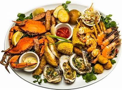 Seafood Plate Dinner Sea Mississippi Fish Platter