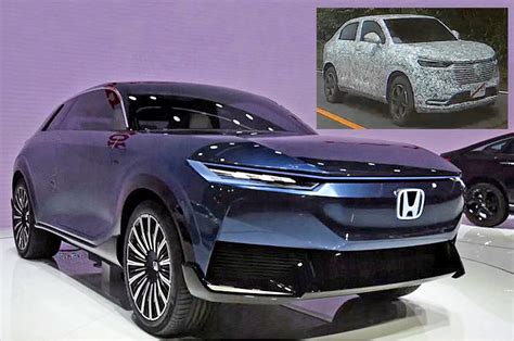 Next-gen Honda HR-V coming in 2021; previewed at Beijing ...