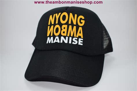 topi thema maluku the ambon manise shop oleh oleh khas maluku