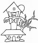 Haunted Coloring Pages Printable Disney Momjunction Colouring Halloween Mansion Sheets Ghost Scary sketch template