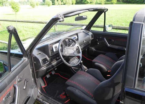 Beetle Cabrio Ohne Garage by Vw Golf 1 Cabrio Gti Karmann Unverbauter Originalzustand