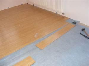 Pokládka plovoucí podlahy na dlažbu