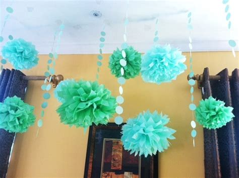 Baby Shower Blue And Green Decorations - baby shower ideas the green bean the high