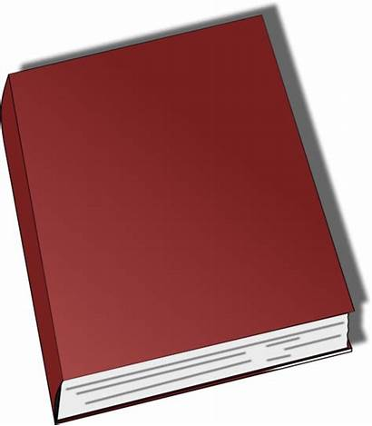 Clip Closed Vector Clipart Books Generic Covers