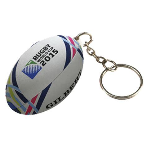 porte cles ballon rugby rwc 2015