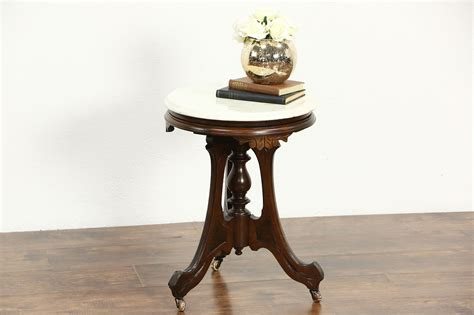 sold victorian  antique  chairside table