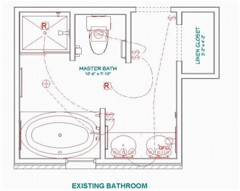 Small Master Bathroom Layout Plans by 17 Best Images About Small Bathroom Plans On