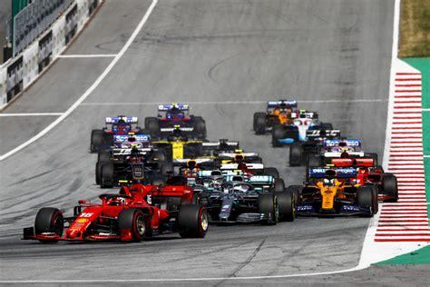 record race formula calendar announced
