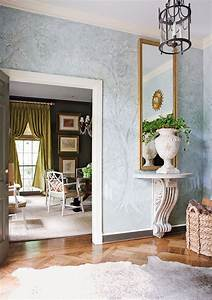 Pretty Inspirational: de Gournay wallpaper