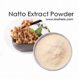 High Quality Natto Extract Powder   Nattokinase For Sale