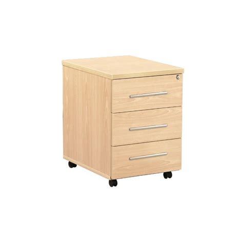 caisson mobile de bureau 3 tiroirs acc r43 lemondedubureau
