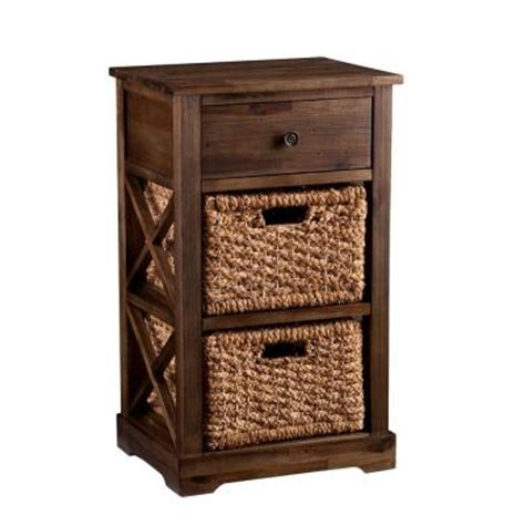 storage cabinets with wicker baskets southern enterprises doshie wicker basket storage cabinet