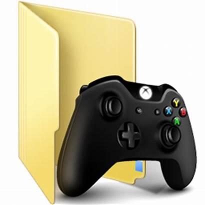 Folder Icon Windows Games Ico Folders User