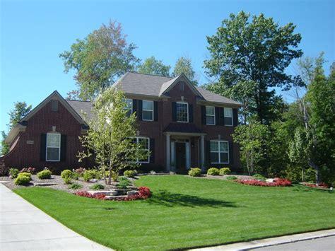 beautiful front yards beautiful front yard in brighton mi landscaping pinterest