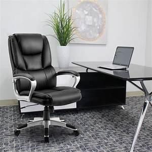 Merax, High, Back, Executive, Office, Chair, Black, Ergonomic, Computer, Desk, Chair