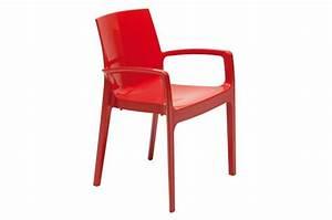 Chaise Rouge Design : chaise design rouge tarn design sur sofactory ~ Teatrodelosmanantiales.com Idées de Décoration