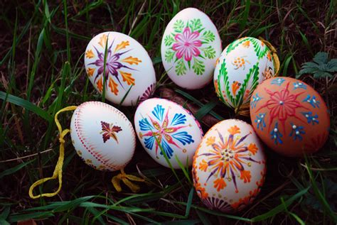 Slovak Hand Painted Easter Eggs · How To Make A Decorative