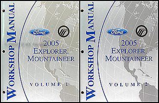 ford explorer mercury mountaineer wiring diagram manual